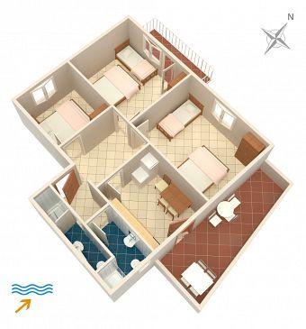 Apartment A-4561-a - Apartments Drače (Pelješac) - 4561