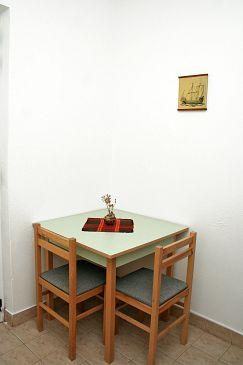 Žuljana, Jadalnia u smještaju tipa apartment.