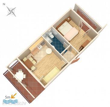 Apartment A-458-a - Apartments Okrug Gornji (Čiovo) - 458