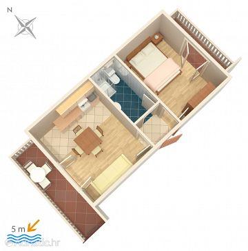 Apartment A-458-c - Apartments Okrug Gornji (Čiovo) - 458