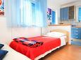 Bedroom - Studio flat AS-4588-a - Apartments Orebić (Pelješac) - 4588