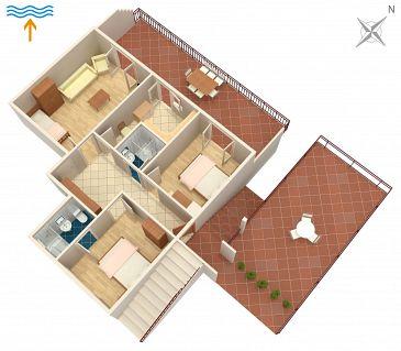 Apartament A-4589-a - Apartamenty Jelsa (Hvar) - 4589