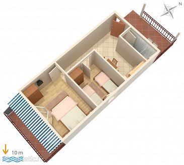 Apartment A-4598-c - Apartments Uvala Zaraće (Hvar) - 4598