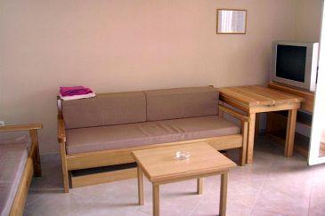 Basina, Living room u smještaju tipa apartment, dostupna klima i dopusteni kucni ljubimci.