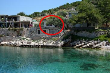 Obiekt Uvala Zaraće (Hvar) - Zakwaterowanie 4603 - Willa blisko morza ze żwirową plażą.
