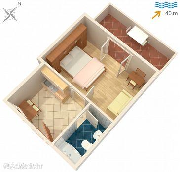 Apartment A-4621-c - Apartments Jelsa (Hvar) - 4621