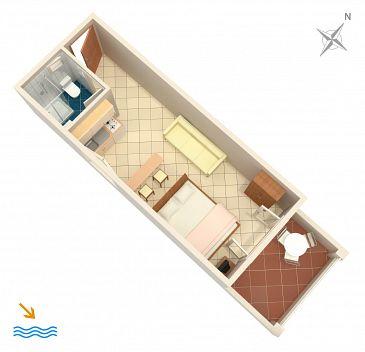 Studio flat AS-4622-a - Apartments Basina (Hvar) - 4622