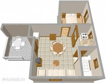 Apartment A-463-a - Apartments Jadrija (Šibenik) - 463