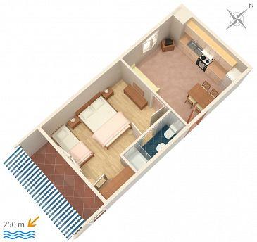 Apartament A-4632-c - Kwatery Duće (Omiš) - 4632