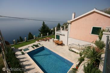 Property Mimice (Omiš) - Accommodation 4644 - Vacation Rentals with pebble beach.