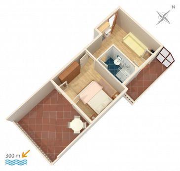Apartment A-4650-b - Apartments Duće (Omiš) - 4650
