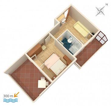 Apartament A-4650-d - Apartamenty Duće (Omiš) - 4650