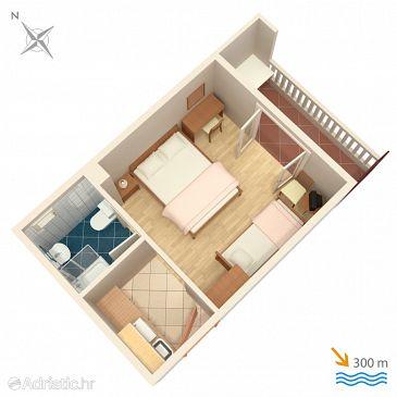 Studio flat AS-4650-b - Apartments Duće (Omiš) - 4650