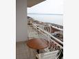 Balcony 1 - Apartment A-4670-a - Apartments and Rooms Podgora (Makarska) - 4670