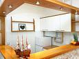 Žaborić, Kitchen u smještaju tipa apartment, dopusteni kucni ljubimci i WIFI.