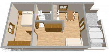Apartment A-468-b - Apartments Žaborić (Šibenik) - 468