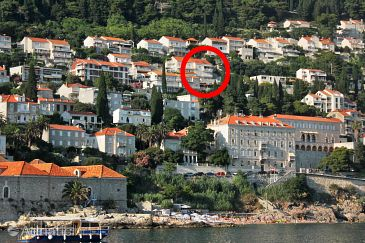 Dubrovnik, Dubrovnik, Property 4684 - Apartments with pebble beach.