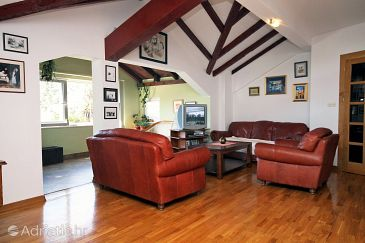 Mokošica, Living room u smještaju tipa apartment, dostupna klima i WIFI.