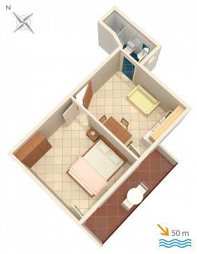Apartament A-471-c - Apartamenty Grebaštica (Šibenik) - 471