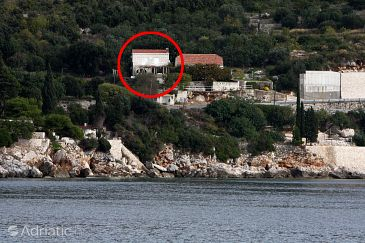 Property Štikovica (Dubrovnik) - Accommodation 4750 - Apartments near sea with pebble beach.