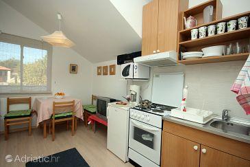Mlini, Dining room u smještaju tipa apartment.
