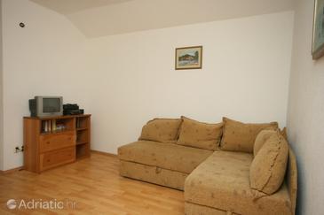 Cavtat, Living room u smještaju tipa apartment.