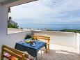 Dubrovnik, Terrace u smještaju tipa apartment, s pogledom na more, dopusteni kucni ljubimci i WIFI.
