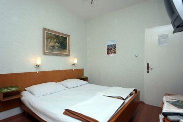 Mlini, Sypialnia w zakwaterowaniu typu room, dopusteni kucni ljubimci i WIFI.