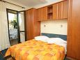 Bedroom - Studio flat AS-4782-a - Apartments Podgora (Makarska) - 4782