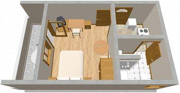 Apartament A-479-a - Apartamenty Brodarica (Šibenik) - 479