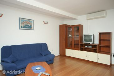 Cavtat, Living room u smještaju tipa apartment, dostupna klima i WIFI.