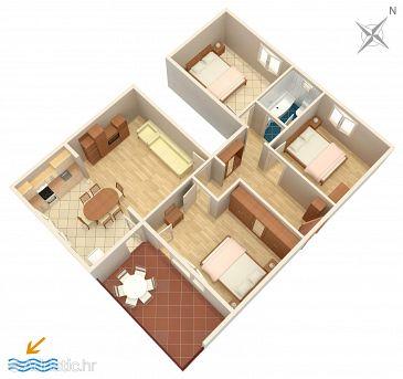 Apartment A-4796-a - Apartments Duće (Omiš) - 4796