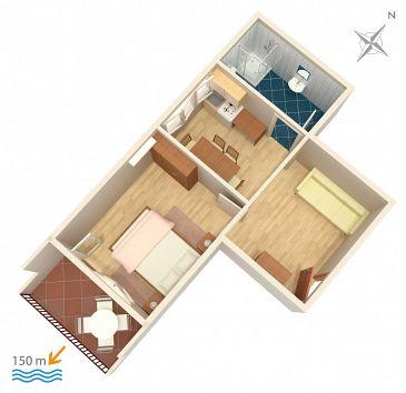 Apartament A-4798-a - Apartamenty Duće (Omiš) - 4798