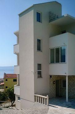 Obiekt Duće (Omiš) - Zakwaterowanie 4799 - Apartamenty z piaszczystą plażą.