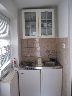 Grebaštica, Kitchen u smještaju tipa studio-apartment, WIFI.