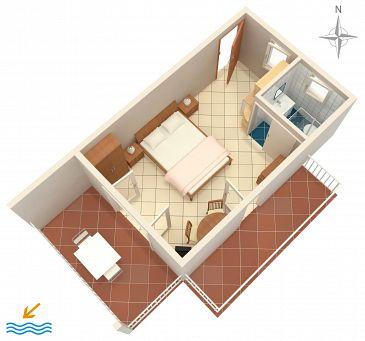 Studio flat AS-4801-a - Apartments Selce (Crikvenica) - 4801