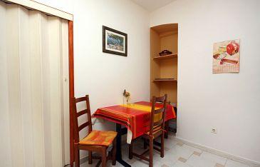 Split, Dining room u smještaju tipa studio-apartment, dopusteni kucni ljubimci.
