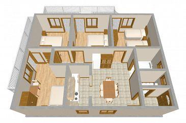Apartament A-482-a - Apartamenty Grebaštica (Šibenik) - 482