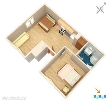 Apartment A-4824-b - Apartments Primošten (Primošten) - 4824