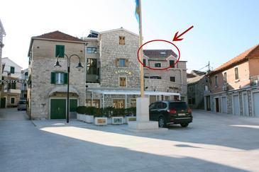 Obiekt Primošten (Primošten) - Zakwaterowanie 4824 - Apartamenty blisko morza ze żwirową plażą.