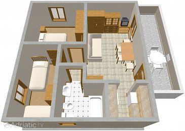 Apartment A-484-a - Apartments Žaborić (Šibenik) - 484