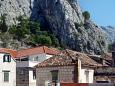 Shared terrace - view - Apartment A-4851-b - Apartments Omiš (Omiš) - 4851