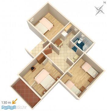 Apartment A-4852-a - Apartments Duće (Omiš) - 4852