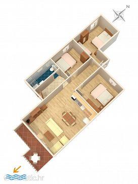 Apartment A-4859-a - Apartments Podstrana (Split) - 4859