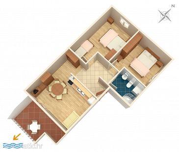 Apartment A-4859-c - Apartments Podstrana (Split) - 4859