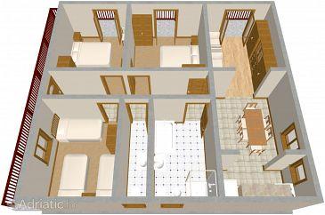 Apartment A-486-a - Apartments Brodarica (Šibenik) - 486