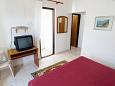 Bedroom - Studio flat AS-4862-a - Apartments and Rooms Barbat (Rab) - 4862
