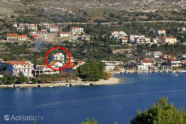 Property Grebaštica (Šibenik) - Accommodation 4866 - Apartments with pebble beach.