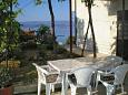 Courtyard Zavode (Omiš) - Accommodation 4873 - Apartments near sea with pebble beach.