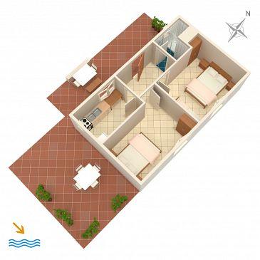 Apartment A-4875-a - Apartments Uvala Torac (Hvar) - 4875